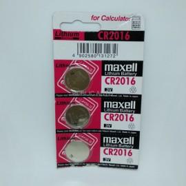Maxell CR2016 Battery (Ori)